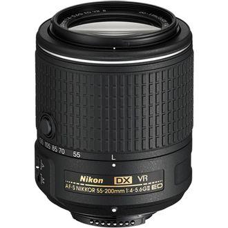 Objetiva Nikon AF-S DX Zoom-Nikkor 55-200mm F/4-5.6G ED VRii