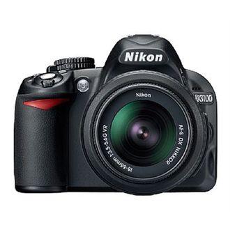 Câmera Nikon D3100 - com Objetiva AF-S DX 18-55mm F/3.5-5.6G VR