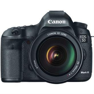 Câmera Canon EOS 5D Mark III - com Objetiva EF 24-105mm F/4L LS