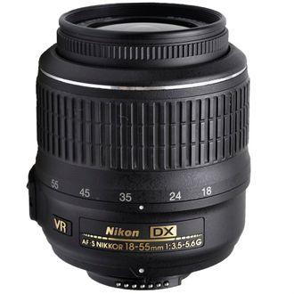 Objetiva Nikon AF-S DX 18-55mm F/3.5-5.6G VR - Usada