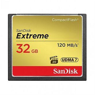Cartão de Memória Sandisk CF Extreme 32Gb 120 Mb/S