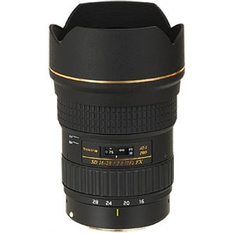 Objetiva Tokina/Canon 16-28 mm F/2.8 At-X  Pro FX