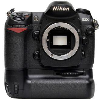 Câmera Nikon D200 Corpo Com Battery Grip - Usada