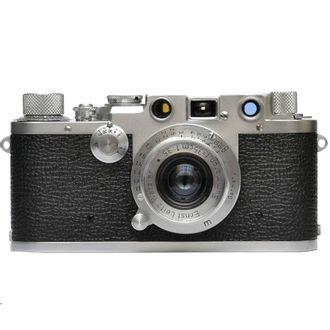 Câmera Leica III F com Objetiva Sumaron F/3.5 - Usada