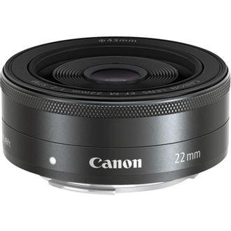 Objetiva Canon EF-M 22mm F/2 STM - Usada