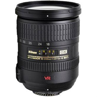Objetiva Nikon AF-S DX Nikkor 18-200mm F/3.5-5.6G ED VR - Usada