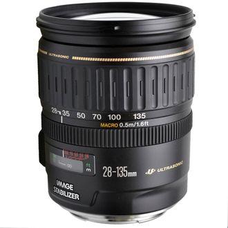Obejtiva Canon EF 28-135mm F/3.5-5.6 LS - Usada