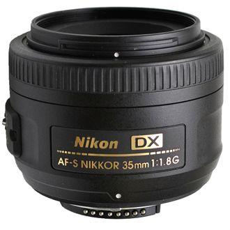 Objetiva Nikon 35mm F/1.8G DX - Usada