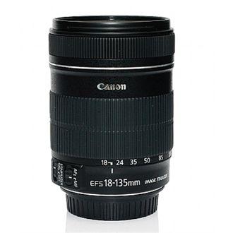 Objetiva Canon EF-S 18-135 F/3.5-5.6 LS STM - Usada
