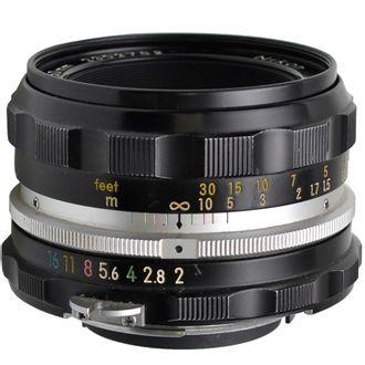 Objetiva Nikon 50mm F/2 Foco Manual - Usada