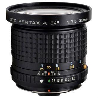 Objetiva Pentax-A 645 35mm F/3.5 - Usada