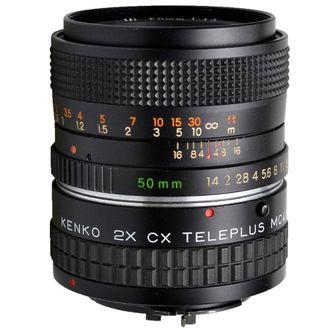 Objetiva Yashica Ml 50mm F/1.4 com Teleplus 2X Mc4 - Usada