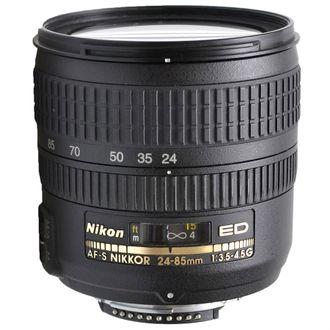 Objetiva Nikon AF-S Nikkor 24-85mm F:3.5-4.5 G Ed - Usada