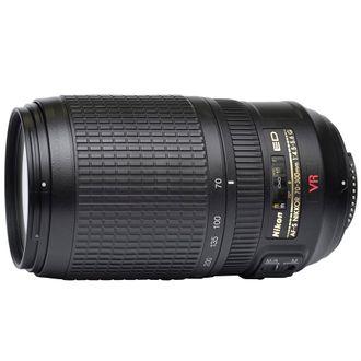 Objetiva Nikon ED AF-S Nikkor 70-300mm F/4.5-5.6 G VR - Usada