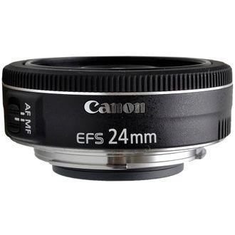 Objetiva Canon EF-S 24mm F/2.8 STM - Usada