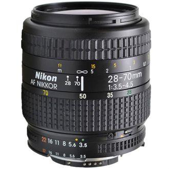 Objetiva Nikon AF 28-70mm F/3.5-4.5 - Usada