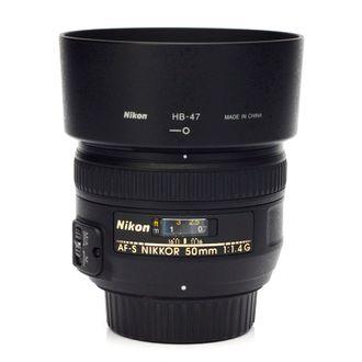 Objetiva Nikon AF-S 50mm F/1.4G - Usada