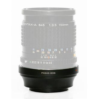 Anel Adaptador Pentax 645- Canon EOS