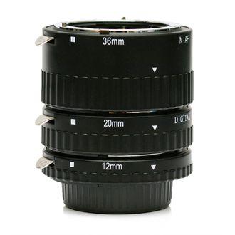 Tubo Extensor Meike para Nikon com 3 Anéis