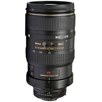 Objetiva Nikon AF 80-400mm F/4.5-5.6D ED VR - Usada