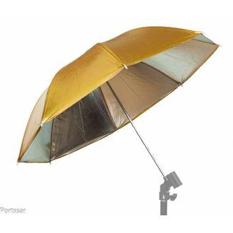 Sombrinha Refletora Greika UR04 (Dourada E Prata) DMS 91cm