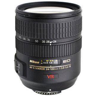 Objetiva Nikon AF-S 24-120mm F/3.5-5.6G ED VR - Usada