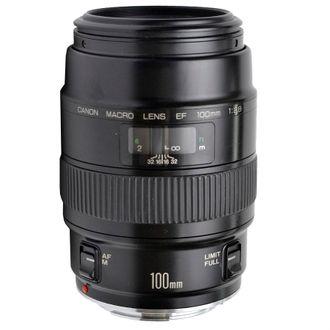Objetiva Canon EF Macro 100mm F/2.8 -Usada