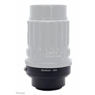 Anel Adaptador Pentax 67 - Canon (EF)