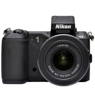 Câmera Nikon 1 V2 com Objetiva 10-30mm F/3.5-5.6 VR - Usada