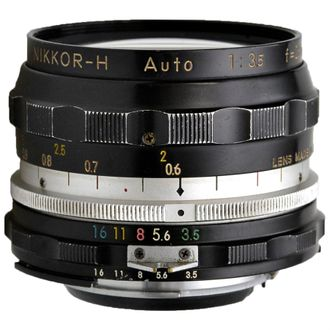 Objetiva Nikon Nikkor-H Auto 28mm F/3.5 Foco Manual - Usada