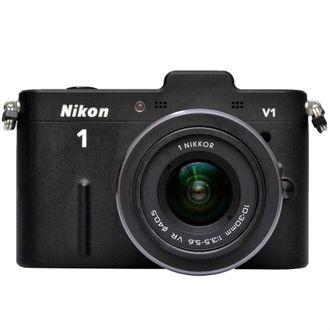 Câmera Nikon 1 V1 com Objetiva 10-30mm F/3.5-5.6 VR - Usada