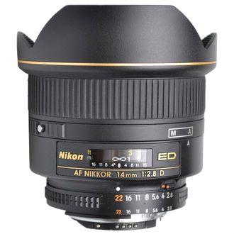 Objetiva Nikon AF 14mm F/2.8D Ed - Usada