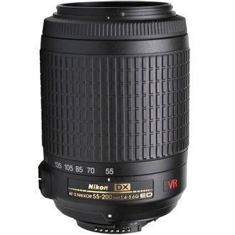 Objetiva Nikon AF-S DX 55-200mm F/4-5.6G ED VR - Usada