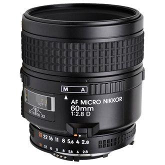 Objetiva Nikon AF Micro 60mm 2.8D - Usada