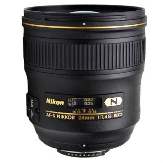 Objetiva Nikon AF-S 24mm F/1.4G Ed (N) - Usada