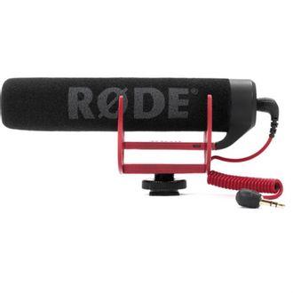 Microfone Rode Videomic Go com Protetor Deadcat