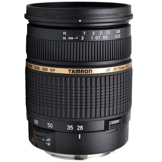 Objetiva Tamron AF 28-75mm F/2.8 Xr DI Ld Aspherical (LF) para Canon - Usada
