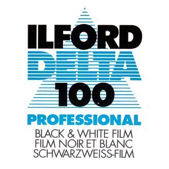 Filme Preto e Branco Ilford Delta 100 - Formato 135 - 36 Poses