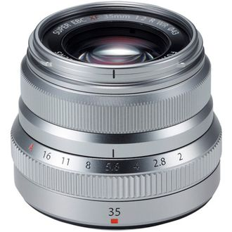 Objetiva Fujinon XF 35mm F/2 R WR (Silver)