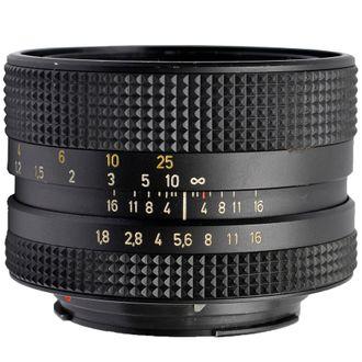 Objetiva Rollei Hft Planar 50mm F/1.8 - Usada