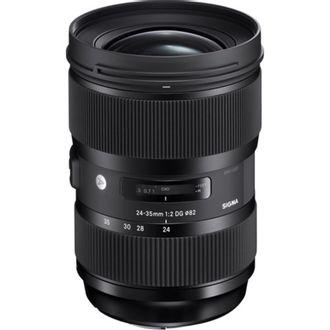 Objetiva Sigma Art 24-35mm F/2DG HSM para Nikon F - Usada