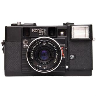 Câmera Konica C35 com Hexanon 38mm F/2.8 - Usada