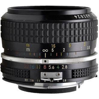 Objetiva Nikon AI 28mm F/2.8 - Usada
