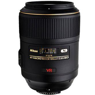 Objetiva Nikon AF-S VR Micro-Nikkor 105mm F/2.8G - Usada