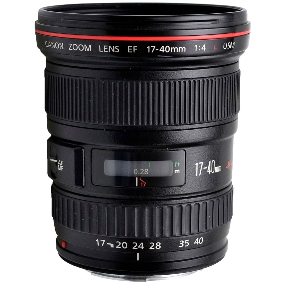 Canon EF 17-40mm f/4L USM Ultra Wide Angle Zoom Lens for