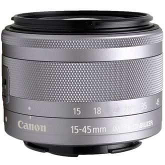 Objetiva Canon EF-M 15-45mm F/3.5-6.3 IS STM - Usada