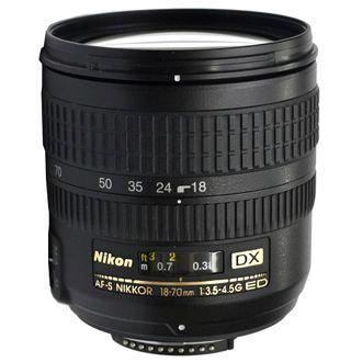 Objetiva Nikon AF-S 18-70mm F/3.5-5.6 - Usada