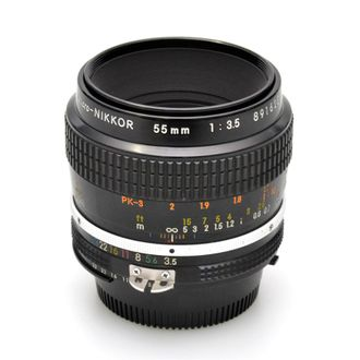 Objetiva Nikon AI Micro 55mm F/3.5 - Usada