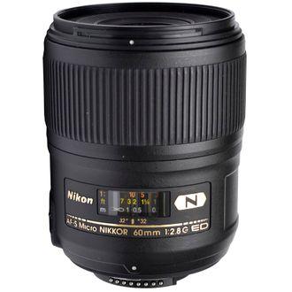 Objetiva Nikon AF-S 60mm F/2.8 Micro - Usada