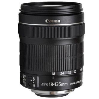 Objetiva Canon EF-S 18-135mm F/3.5-5.6 LS STM - Usada